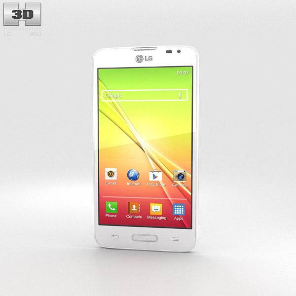 LG L70 White 3d model