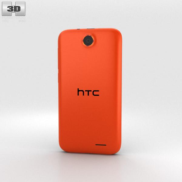 HTC Desire 310 Orange 3d model