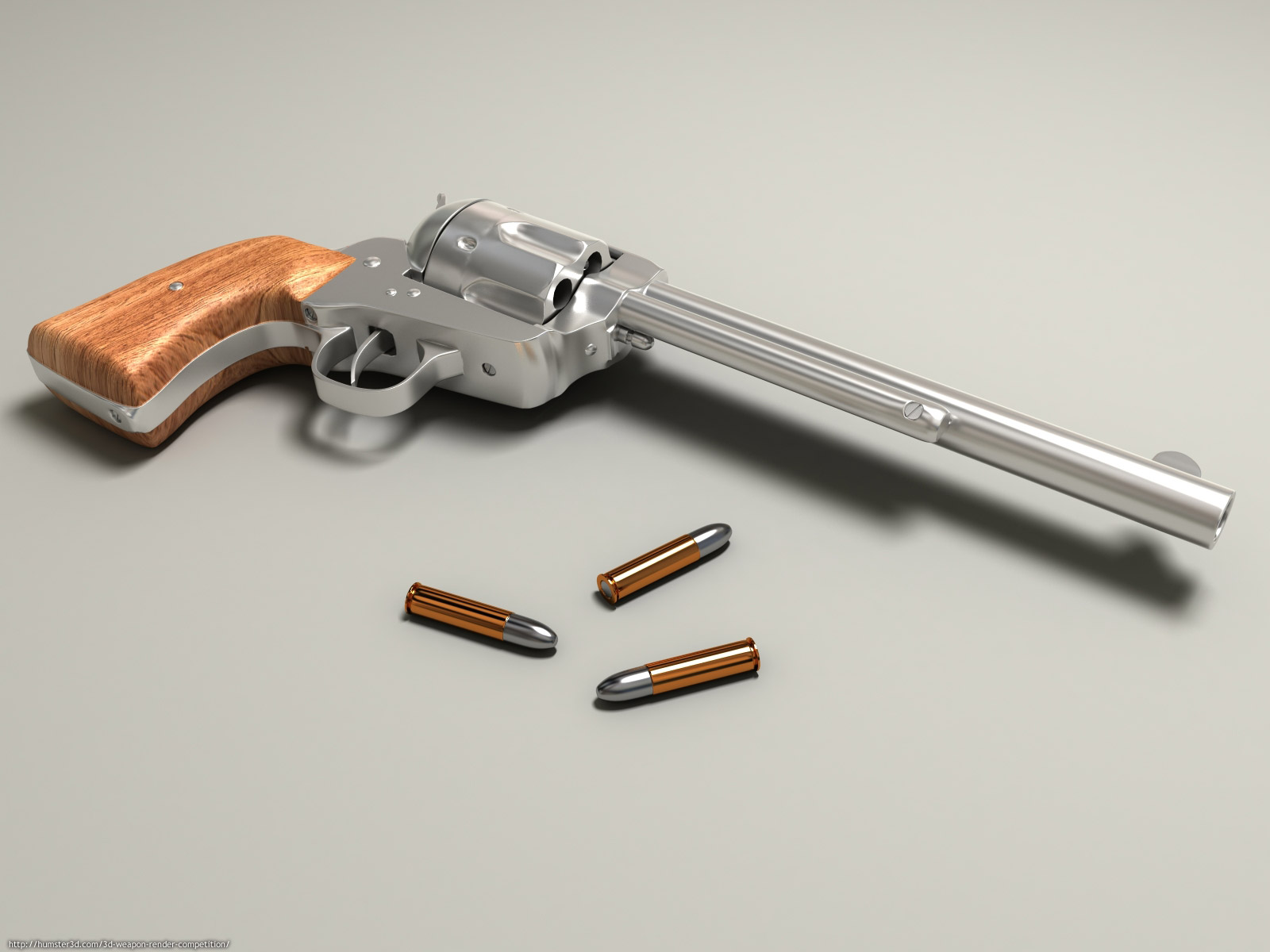 Colt 3d art