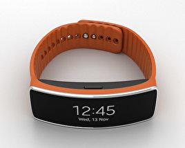 Samsung Gear Fit Orange 3D model