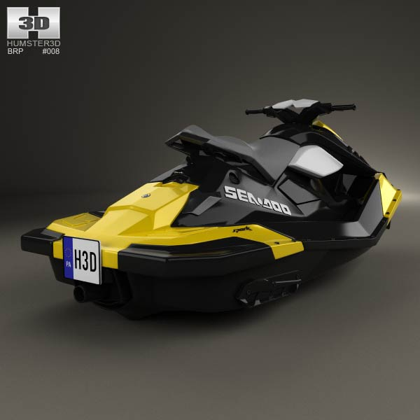 BRP Sea-Doo Spark 2013 3d model