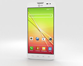 LG L90 Dual White 3D model