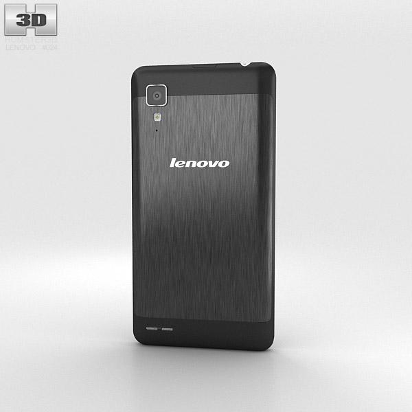 Lenovo P780 Black 3d model