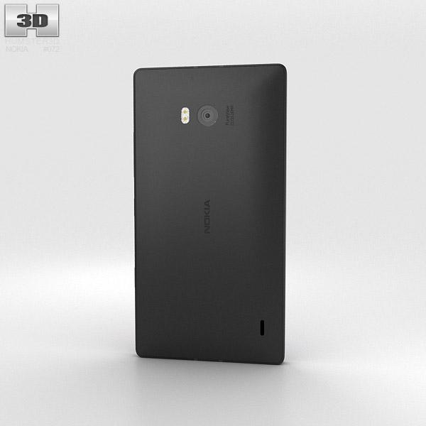 Nokia Lumia 930 Black 3d model