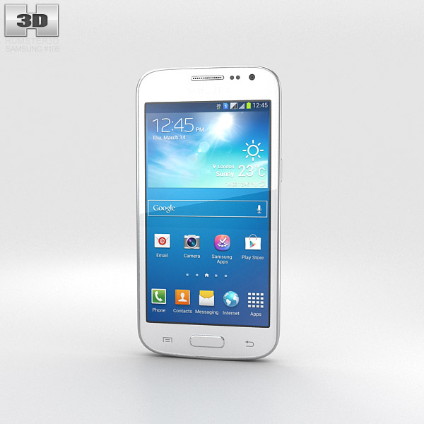 Samsung Galaxy S3 Slim White 3d model