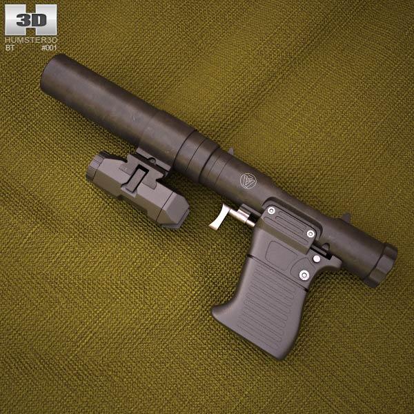 B&P VP9 3d model
