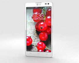LG Optimus L9 II White 3D model