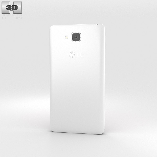 LG Optimus L9 II White 3d model