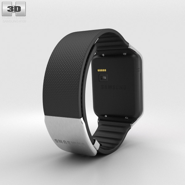 Samsung Galaxy Gear 2 Charcoal Black 3d model