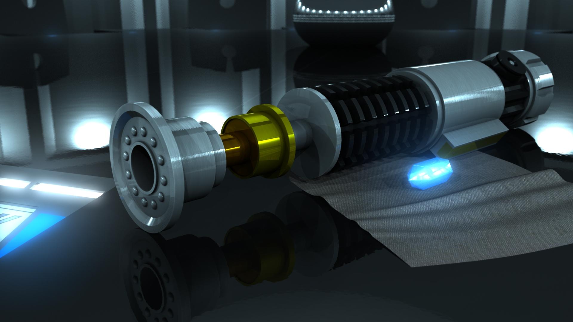 Obi-Wans Kenobis Lightsaber