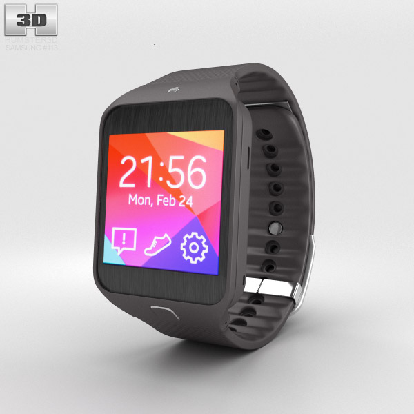 Samsung Gear 2 Neo Mocha Grey 3d model