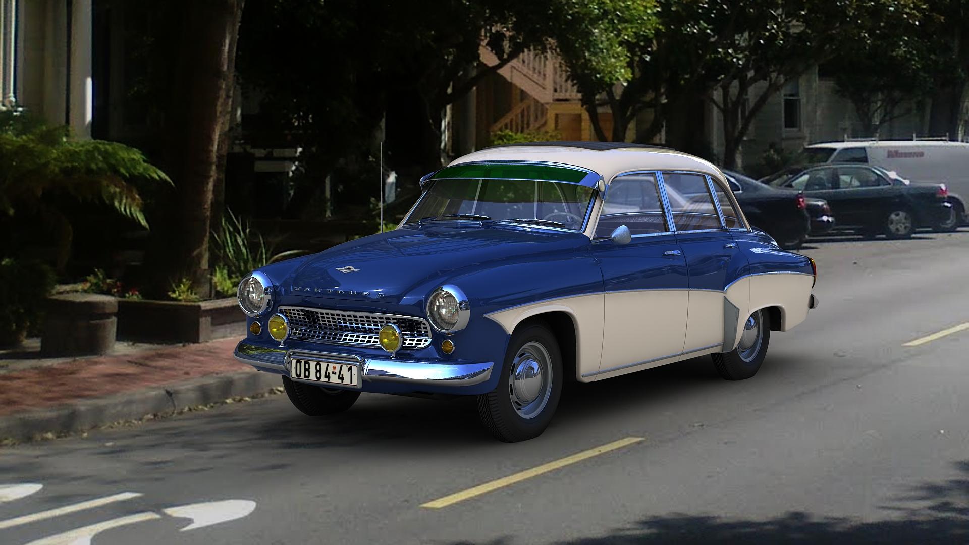 1963 Wartburg 311