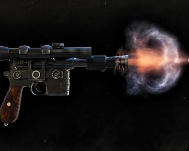 Han Solo´s DL-44 Blaster