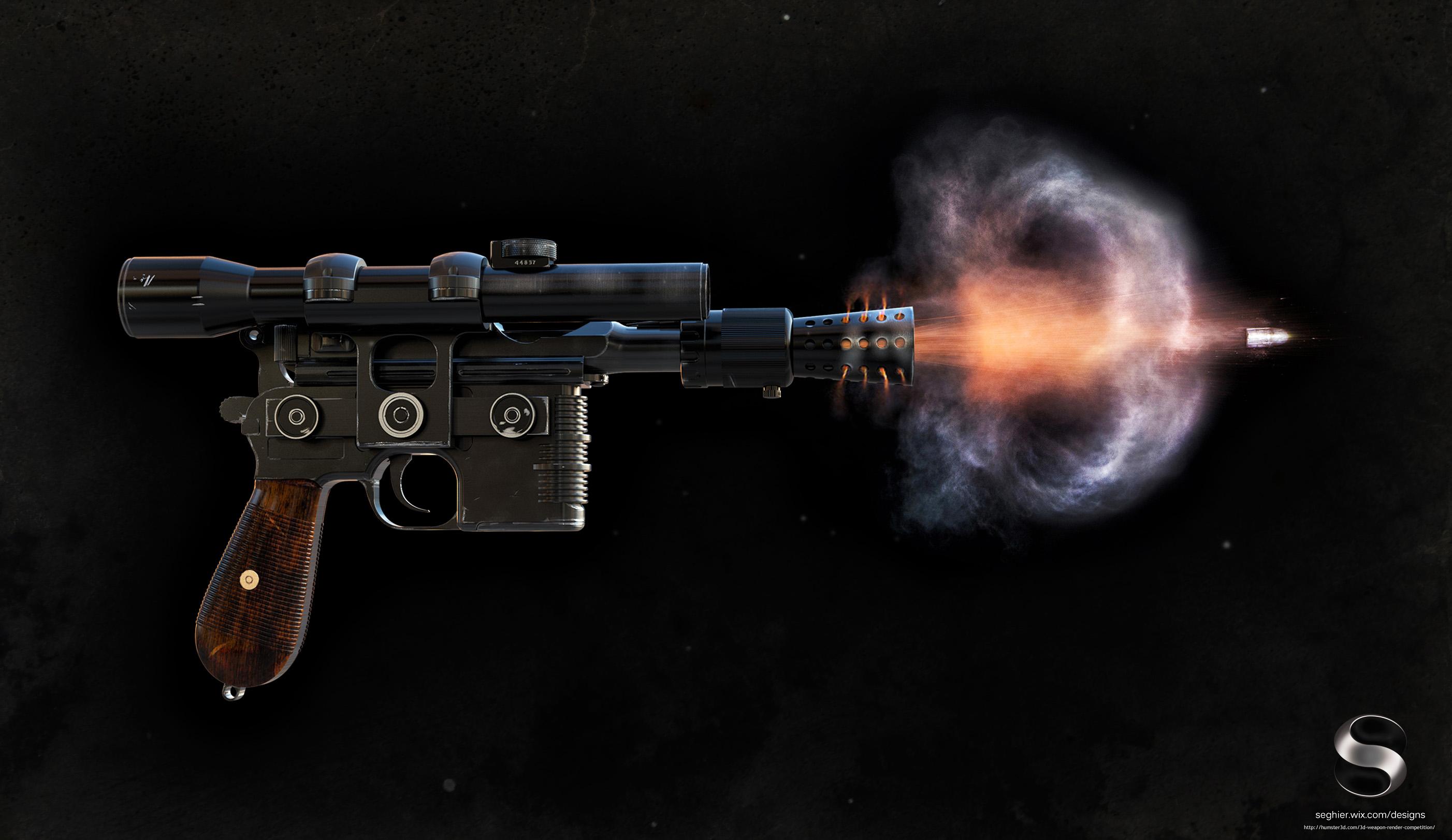 Han Solos DL-44 Blaster