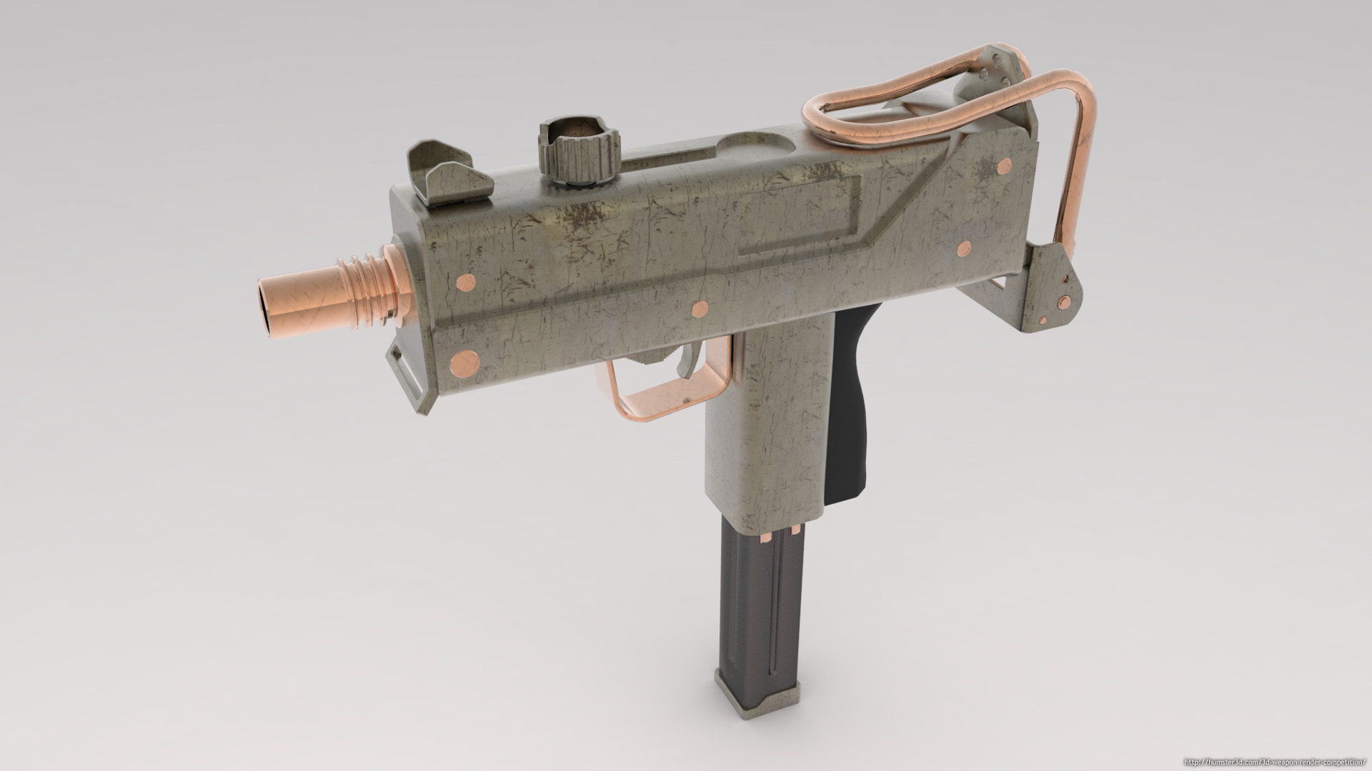 Mac 10 Sub Machine Gun