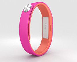 Sony Smart Band SWR10 Fushia 3D model