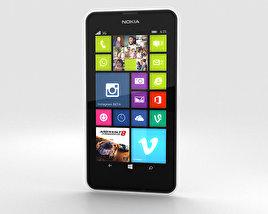 Nokia Lumia 630 White 3D model