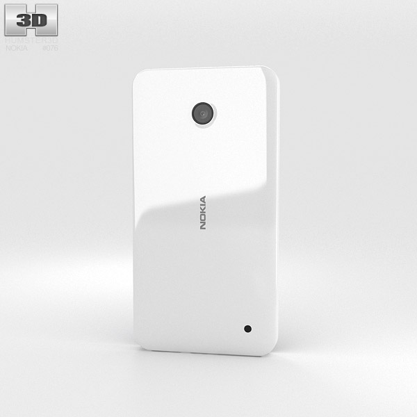 Nokia Lumia 630 White 3d model