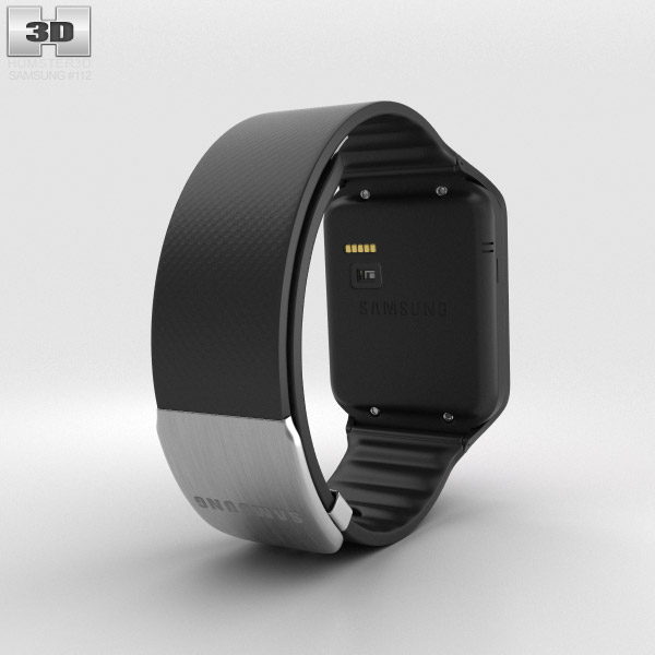 Samsung Gear 2 Neo Charcoal Black 3d model