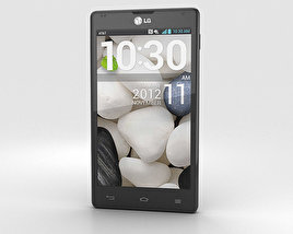 LG Optimus G E970 Black 3D model