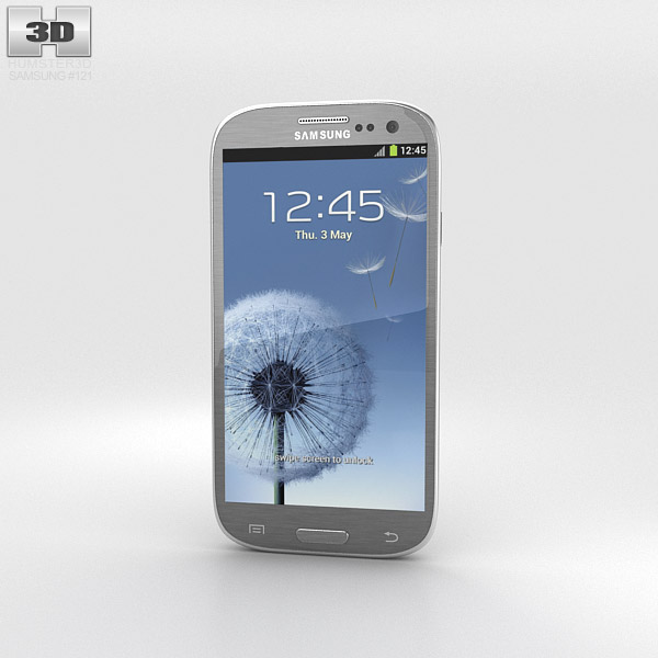 Samsung Galaxy S3 Neo Titanium Grey 3d model