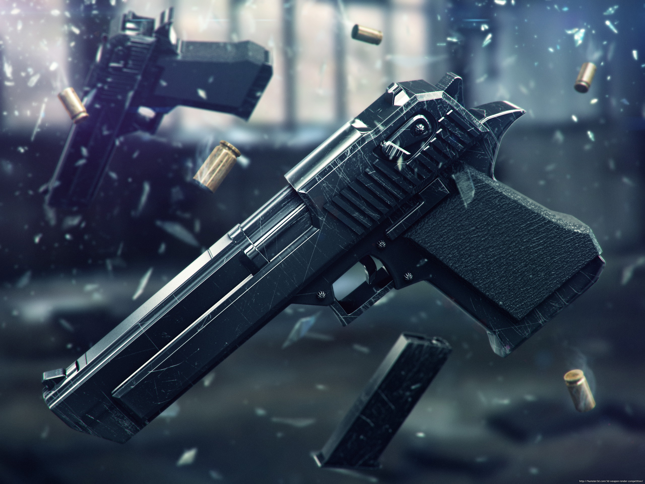 Desert Eagle 3d art
