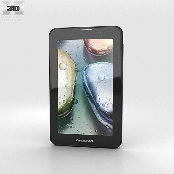 Lenovo IdeaTab A3000 Black 3d model