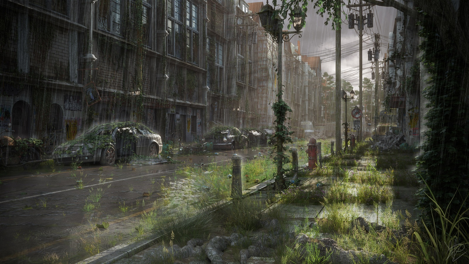 Post Apocalyptic Street
