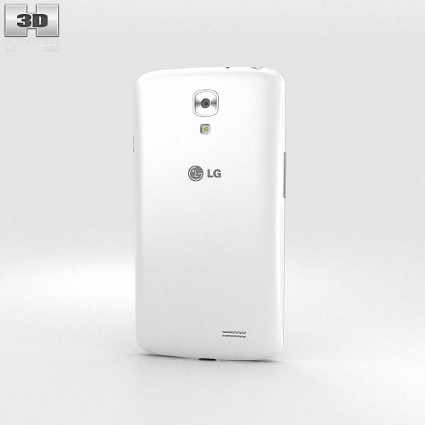 LG F70 White 3d model