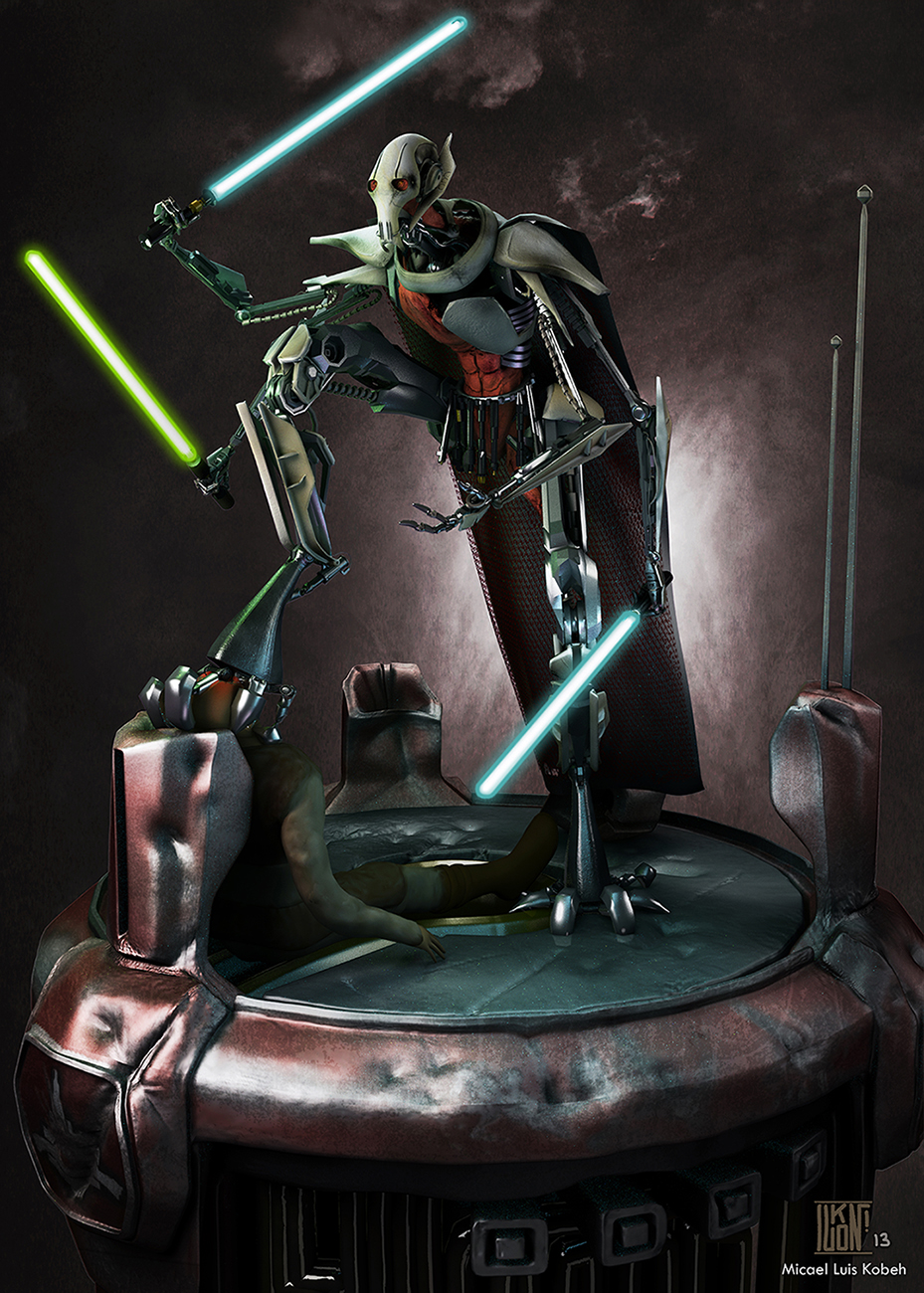 General Grievous reinterpretation
