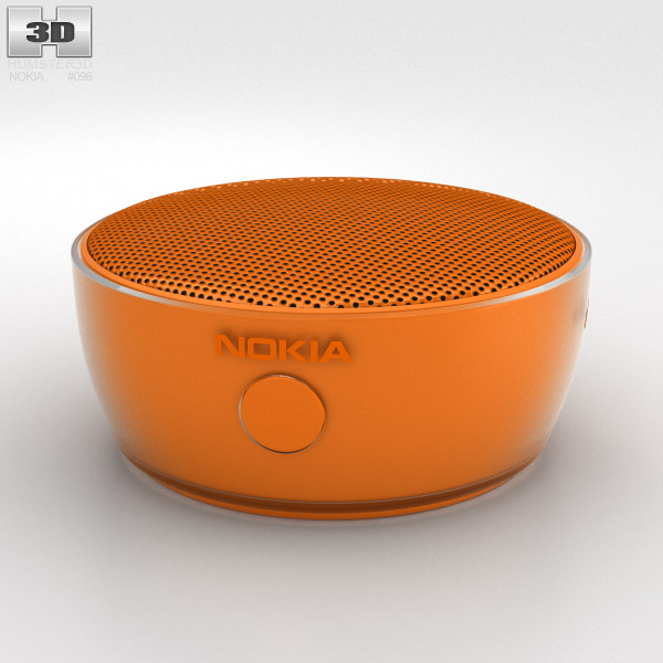 Nokia Portable Wireless Speaker MD-12 Orange 3d model