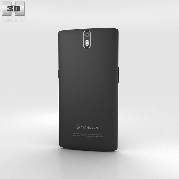 OnePlus One Sandstone Black 3d model