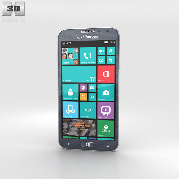 Samsung ATIV SE Gray 3d model