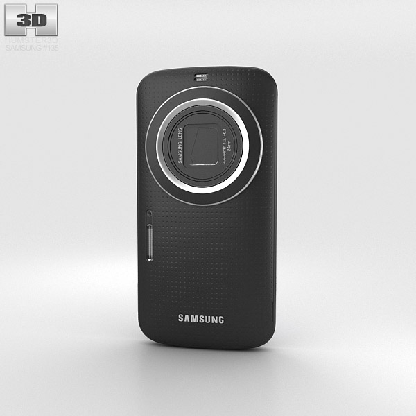 Samsung Galaxy K Zoom Black 3d model