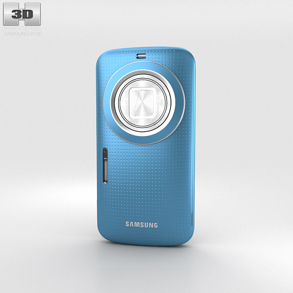 Samsung Galaxy K Zoom Blue 3d model