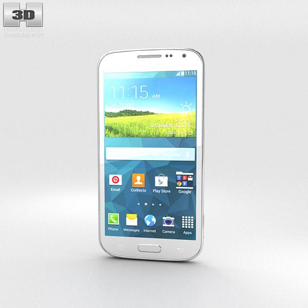 Samsung Galaxy K Zoom White 3d model
