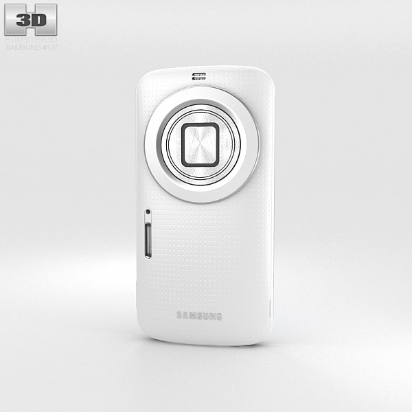 Samsung Galaxy K Zoom White 3d model