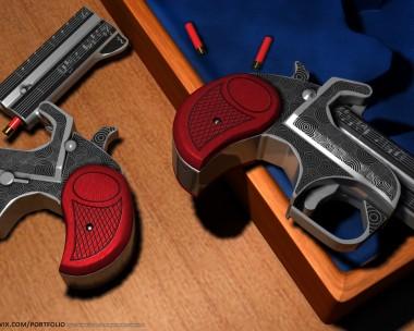 .410 Shotshell Derringer Pocket Pistols