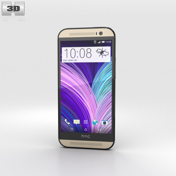 HTC One (M8) Harman Kardon edition 3d model