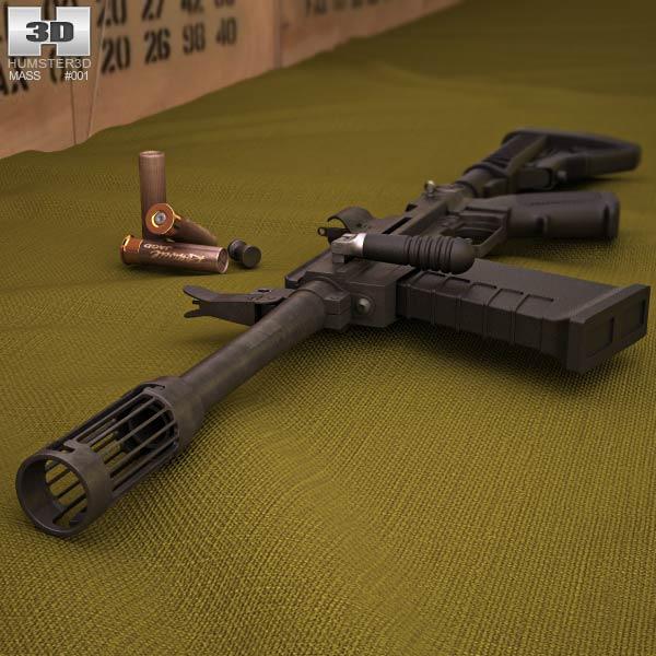 M26 MASS 3d model