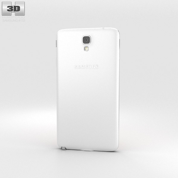 Samsung Galaxy Note 3 Neo White 3d model