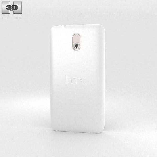 HTC Desire 210 White 3d model