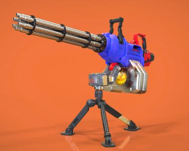 Just mini gun