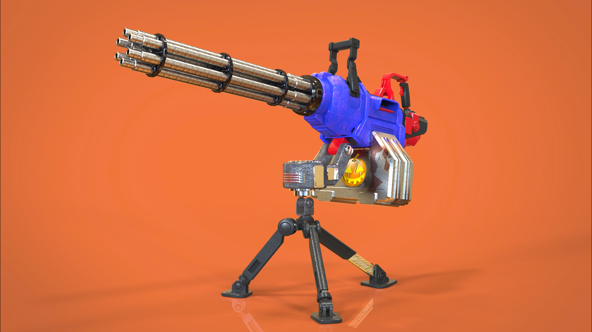 Just mini gun