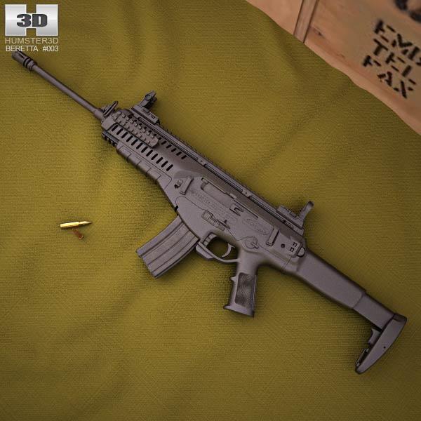 Beretta ARX 100 3d model