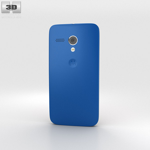 Motorola Moto G Royal Blue 3d model