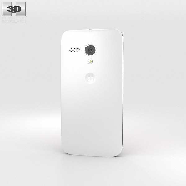 Motorola Moto G Chalk 3d model