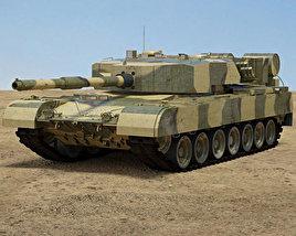 Arjun Mk I 3D model