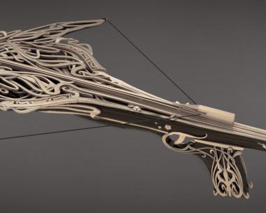 Art Nouveau Crossbow