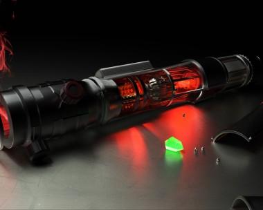 Lightsaber (change your crystal)